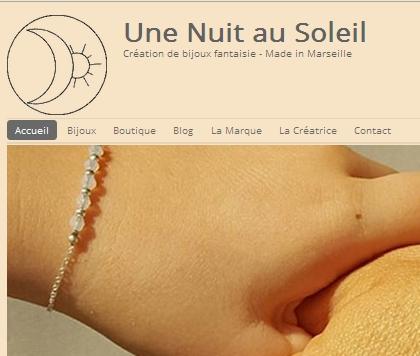 Une Nuit au Soleil: créateur de Bijoux, Marseille