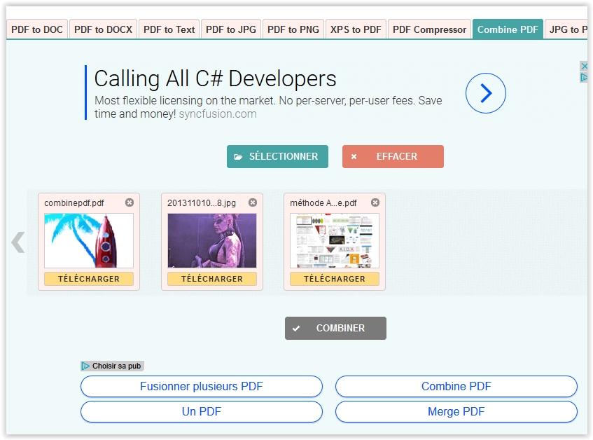 arnaque pdfcompressor en ligne
